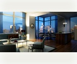 No Fee! The best in modern luxury Condo-quality finishes! Fantastic 2 bedroom/2 baths with Stunning views of the Hudson River, Downtown and Manhattan skyline. Midtown West Area