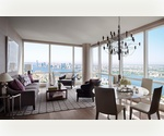 Lavish Corner PENTHOUSE  3 beds/4 baths with Spectacular City Views in Midtown West. Incredible High Ceilings. Includes Spacious Windowed Kitchen, Amazing Dining and Living Room Space, Ideal for Entertaining.